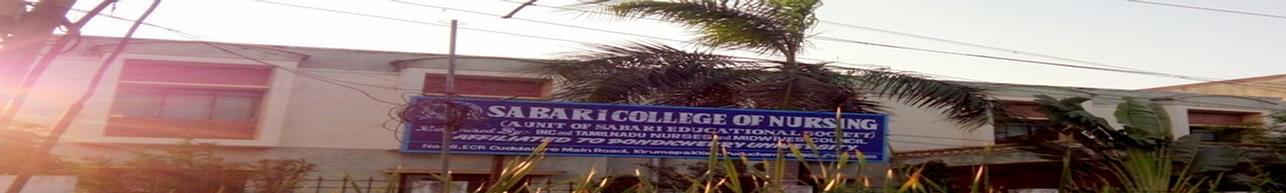 Sabari College of Nursing, Pondicherry
