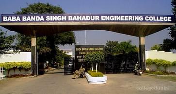 Baba Banda Singh Bahadur Engineering College - [BBSBEC], Fatehgarh Sahib - Course & Fees Details