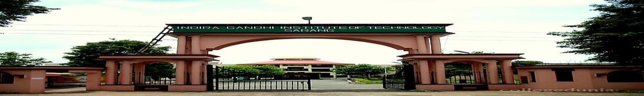 Indira Gandhi Institute of Technology- [IGIT], Dhenkanal
