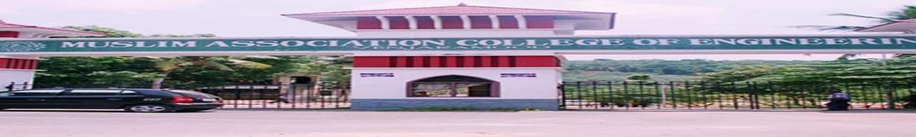 Muslim Association College of Engineering - [MACE], Thiruvananthapuram - Course & Fees Details