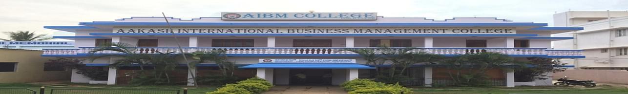 Aakash Institute of Business Management - [AIBM] Mallathalli, Bangalore