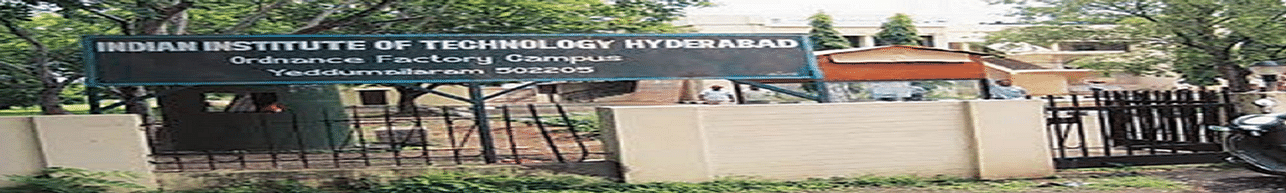 Indian Institute of Technology - [IIT], Hyderabad - Course & Fees Details