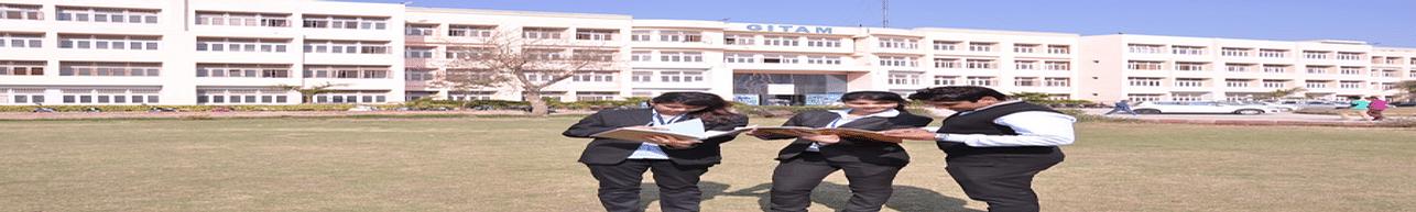 Ganga Institute of Technology and Management - [GITAM] Kablana, Jhajjar - Course & Fees Details
