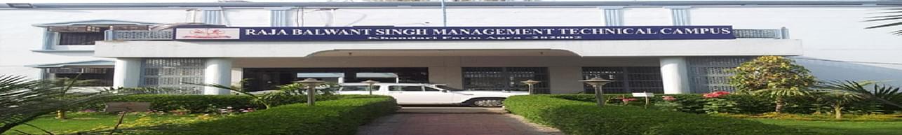 Raja Balwant Singh Management Technical Campus - [RBSMTC], Agra