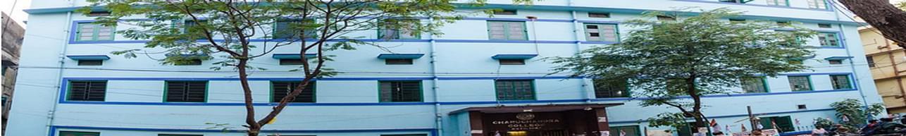 Charuchandra College, Kolkata - Course & Fees Details
