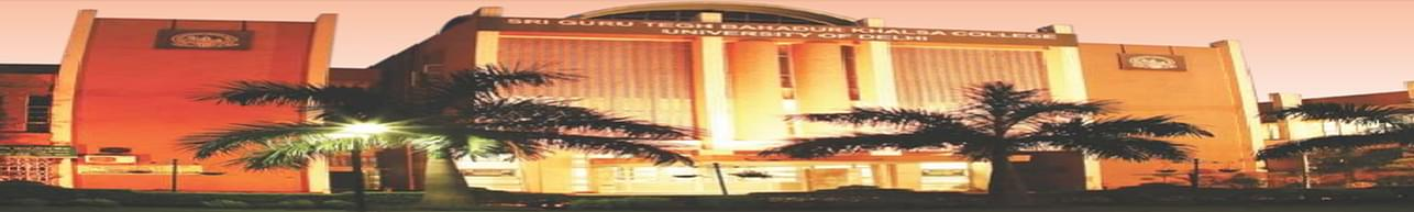 Sri Guru Tegh Bahadur Khalsa College - [SGTB], New Delhi - Admission Details 2020