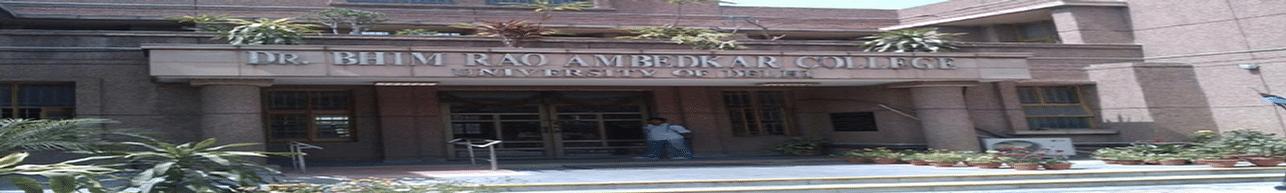 Dr. Bhim Rao Ambedkar College, New Delhi - Course & Fees Details