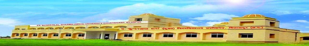 Pandit Sundarlal Sharma Open University - [PSSOU], Bilaspur - Course & Fees Details