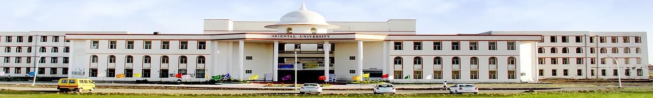 Oriental University - [OU], Indore - associated department