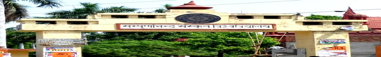 Sampurnanand Sanskrit University, Varanasi - Course & Fees Details