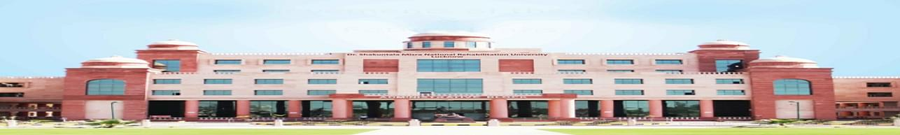 Dr. Shakuntala Misra National Rehabilitation University, Lucknow