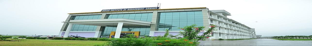 Indian Institute of Management - [IIM], Sirmaur - Admission Details 2020