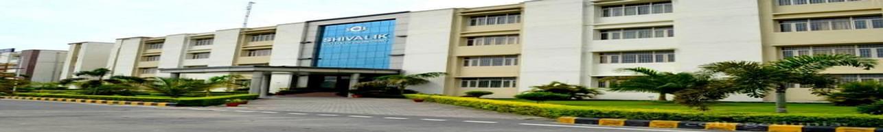 Shivalik College of Engineering - [SCE], Dehradun - Course & Fees Details