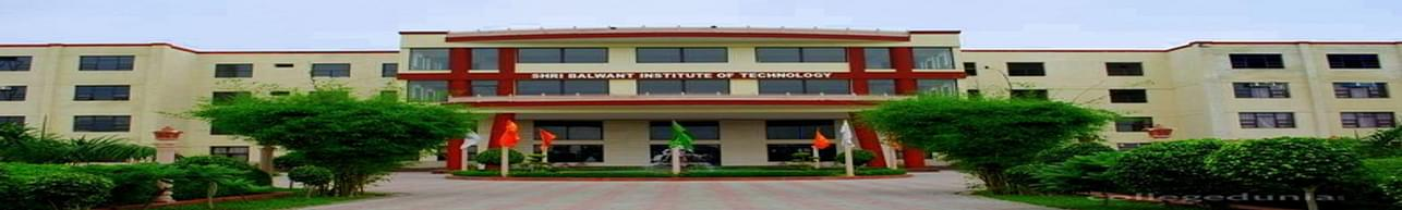Shri Balwant Institute of Technology - [SBIT], Sonepat - Course & Fees Details