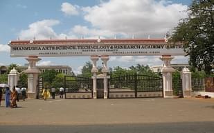 SASTRA University, Thanjavur - Scholarship Details