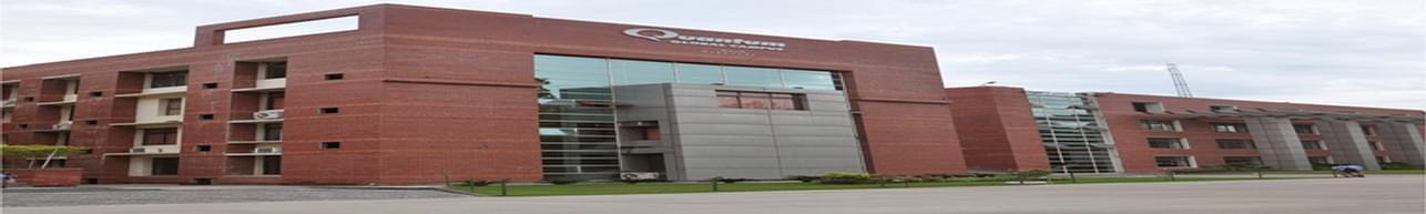 Quantum University, Roorkee Admission 2020