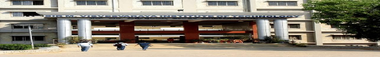 Sir M Visvesvaraya Institute of Technology - [Sir MVIT], Bangalore
