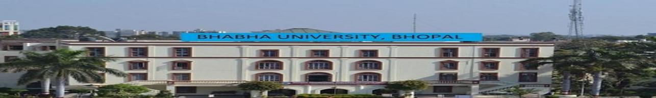 Bhabha University - [BU], Bhopal - Admission Details 2020