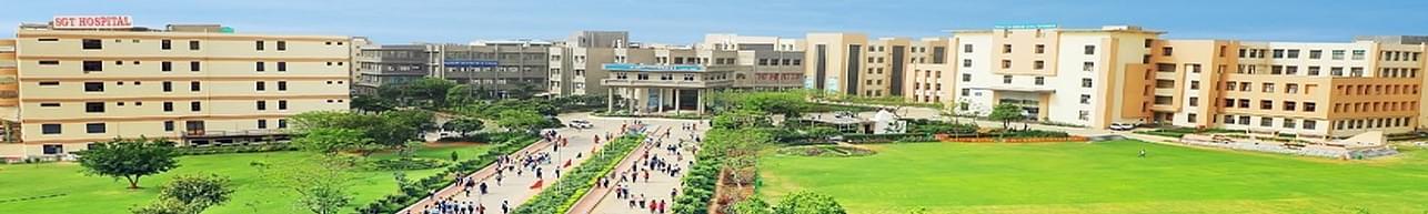 SGT University, Gurgaon - associated department