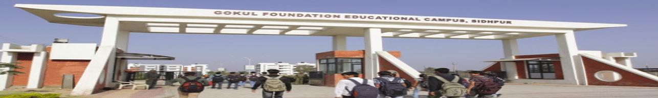 Jashodaba Polytechnic Institute, Gokul Global University, Sidhpur