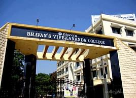 Bhavan's Vivekananda College of Science Humanities and Commerce, Secunderabad - Course & Fees Details