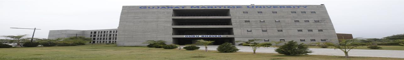 Gujarat Maritime University - [GMU], Gandhi Nagar