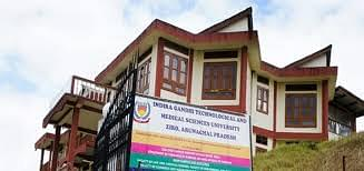 Indira Gandhi Technological And Medical Sciences University, Ziro - Course & Fees Details