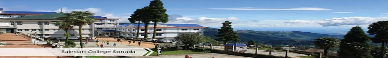 Salesian College Sonada, Darjeeling - Admission Details 2020
