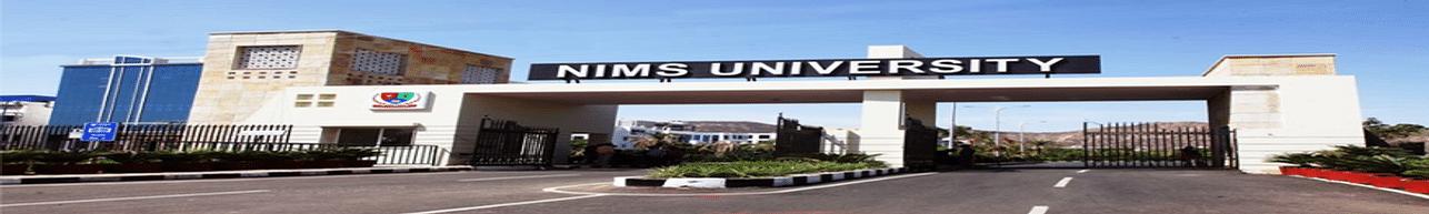 NIMS University, Jaipur - Reviews