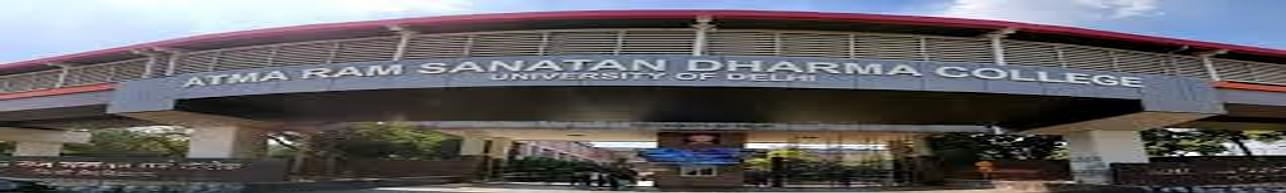 Atma Ram Sanatan Dharma College - [ARSD], New Delhi - Reviews