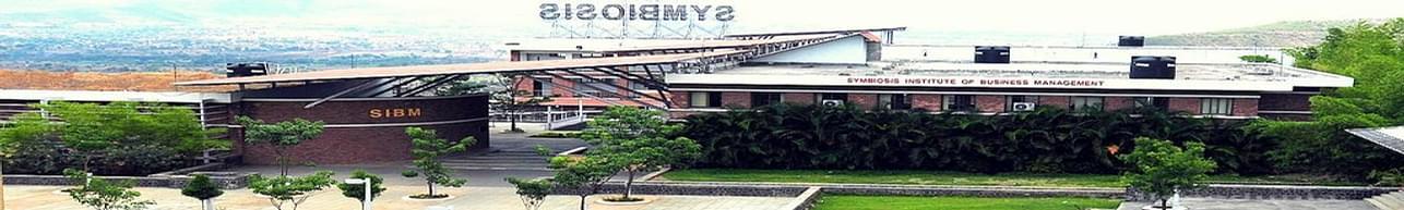 Symbiosis Institute of Business Management - [SIBM], Pune - Course & Fees Details