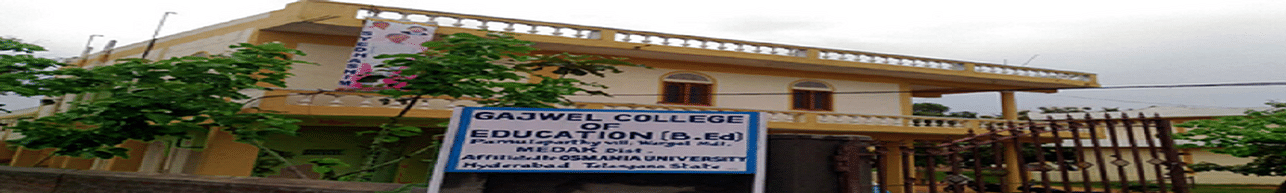 Gajwel College of Education, Medak