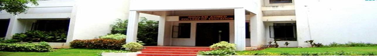 Ghulam Ahmed College of Education - [GACOE], Hyderabad