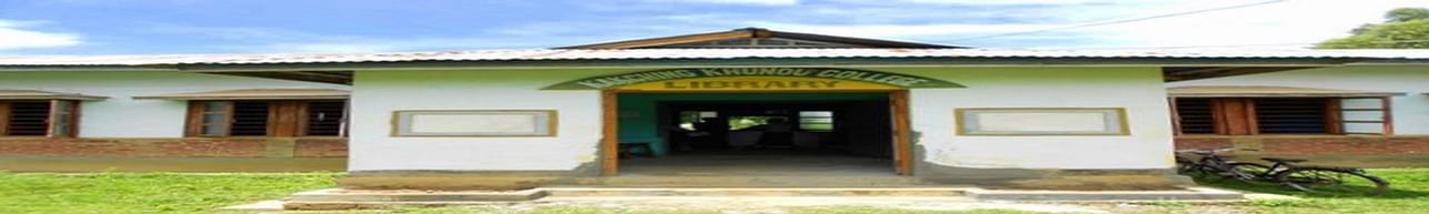 Kakching Khunou College, Thoubal - Course & Fees Details