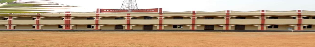 St. Cyril's College Adoor, Pathanamthitta