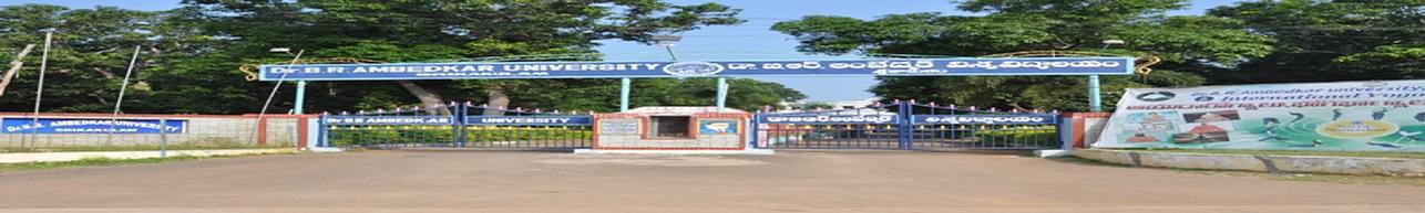 Dr. B. R. Ambedkar University - [BRAU], Srikakulam - Admission Details 2020