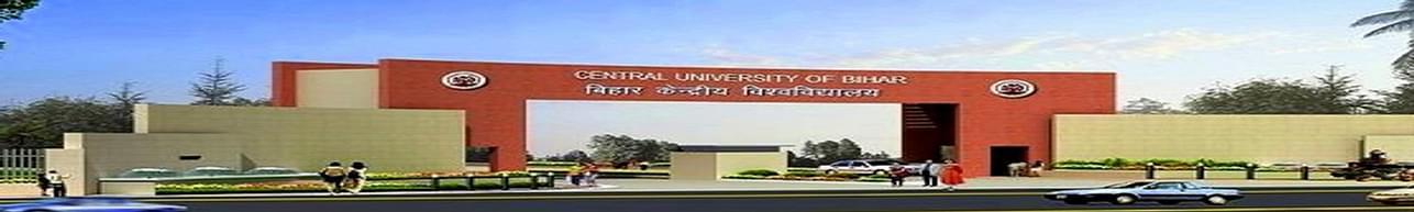 Central University of South Bihar - [CUSB], Gaya - Course & Fees Details