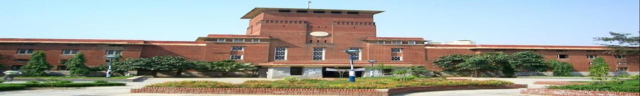 Delhi University - [DU], New Delhi - associated department