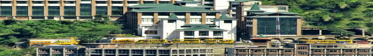 AP Goyal Shimla University, Shimla - Course & Fees Details