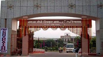 Mahatma Gandhi Chitrakoot Gramoday Vishwavidyalaya- [MGCGV], Satna - Admission Details 2020