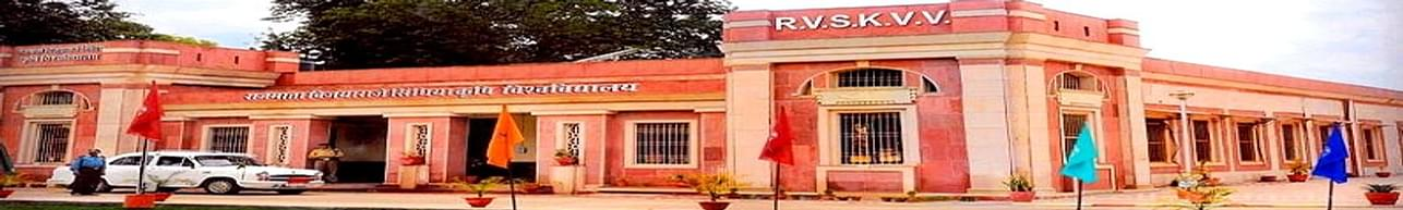Rajmata Vijayaraje Scindia Krishi Vishwa Vidyalaya - [RVSKVV], Gwalior - Course & Fees Details
