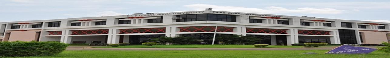 Kalasalingam Academy of Research and Education, Krishnankovil