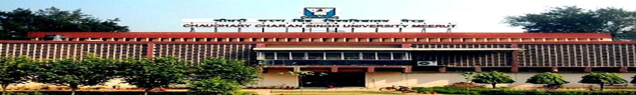 Chaudhary Charan Singh University - [CCS], Meerut