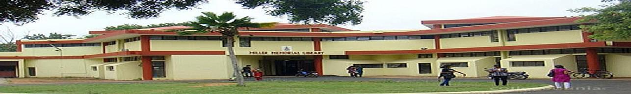 Madras Christian College - [MCC], Chennai - Course & Fees Details