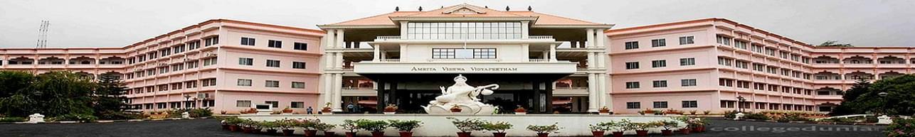 Amrita Vishwa Vidyapeetham, Coimbatore - Course & Fees Details