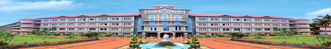 Vimal Jyothi Engineering College - [VJEC], Kannur - Course & Fees Details