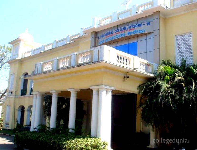 St Philomena S College Mysore Courses Fees 2020 2021