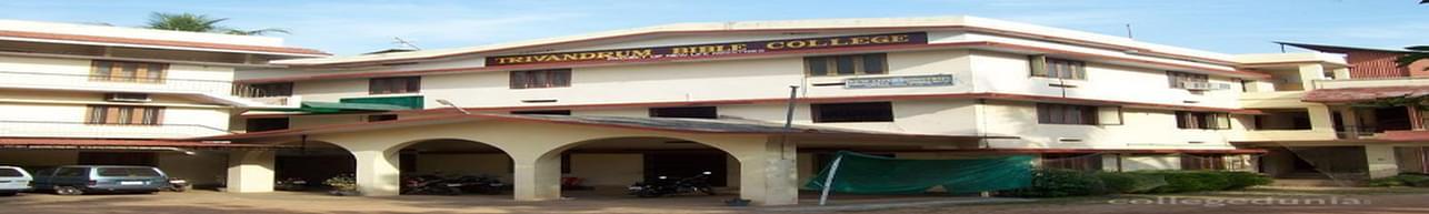 Trivandrum Bible College - [TBC], Thiruvananthapuram
