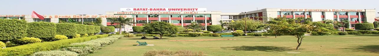 University School of Management Studies, Rayat Bahra University - [USMS], Mohali