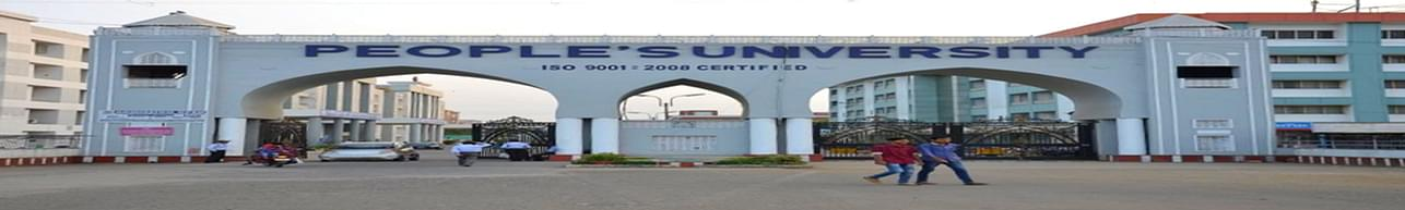 People's University, Bhopal - Course & Fees Details